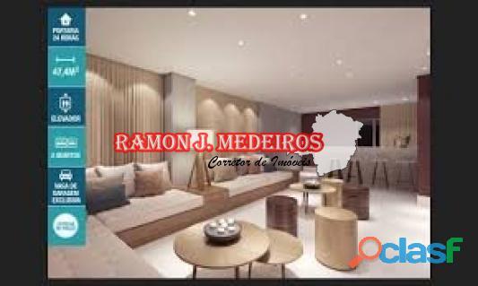 Financie MINHA CASA MINHA VIDA – Excelente Apartamento novo 2 qts Bairro Gávea 2 – Cid. Adm. de MG