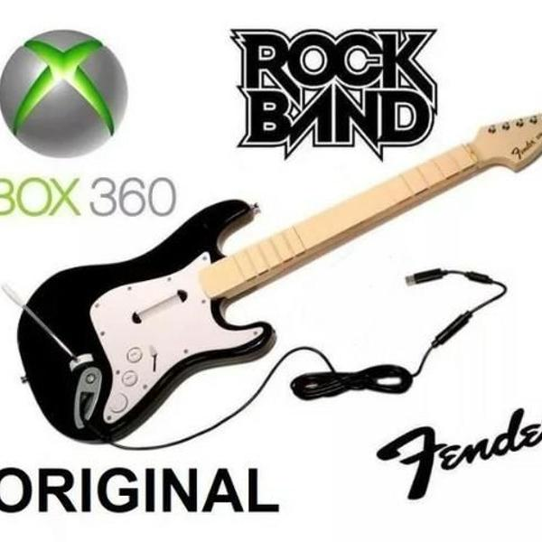 Guitarra rock band original fender xbox & pc