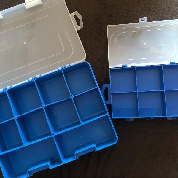 Kit caixas com divisórias