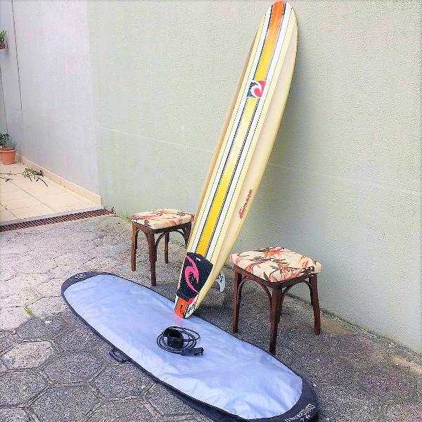 Prancha de surf fun 7,2 rip curl +corda+capa