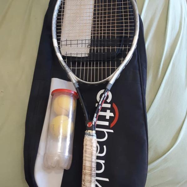 Raquete babolat + raqueteira profissional