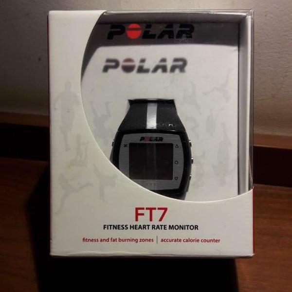 Relógio monitor corrida frequencia cardíaca polar ft7 +