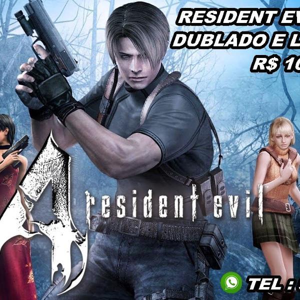 Resident evil 4 ou code veronica - dublado (ps2)