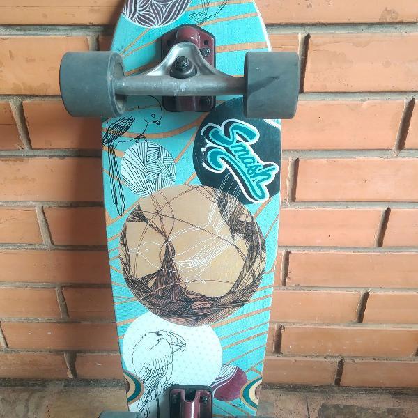 Surf skate earthship