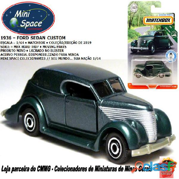 Matchbox 1936 Ford Sedan Customizado 1/64
