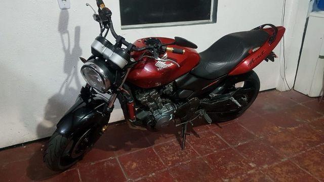Honda cb 600f hornet 2007 - moto extra - 24x cartão