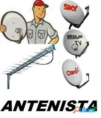 ANTENISTA APONTAMENTO E INSTALAÇÃO