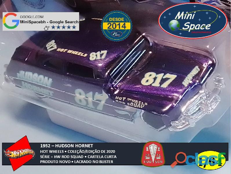 Hot Wheels 1952 Hudson Hornet cor Roxo 1/64 1