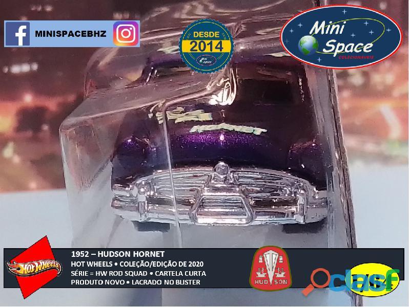 Hot Wheels 1952 Hudson Hornet cor Roxo 1/64 3