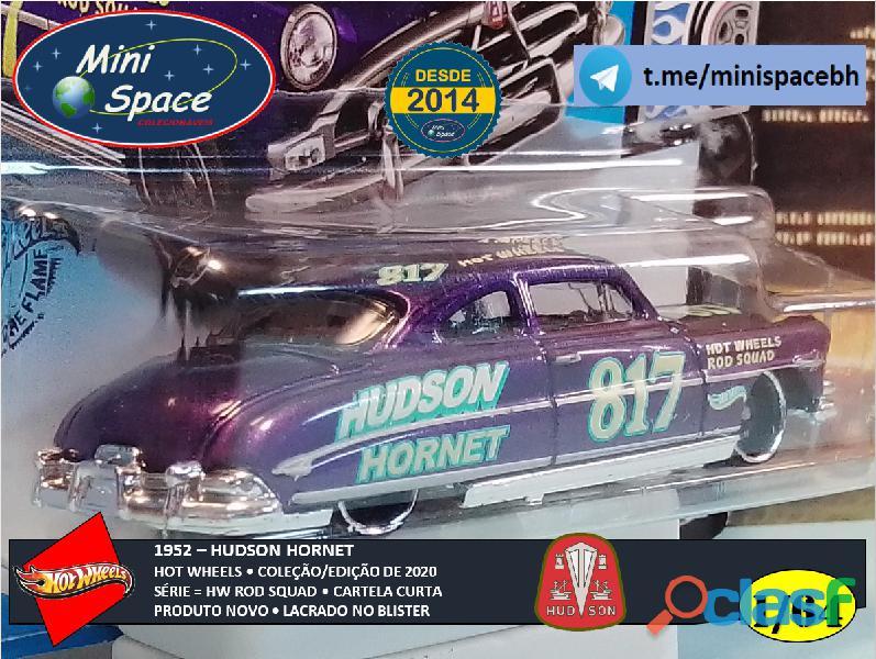 Hot Wheels 1952 Hudson Hornet cor Roxo 1/64 4