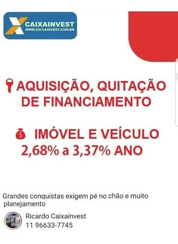 Capital de giro a 2,68% ano produtos caixa - imóveis e auto
