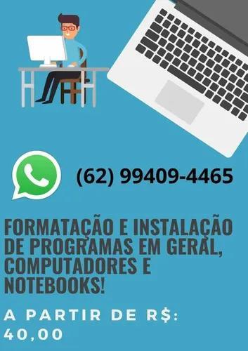 Formate seu computador/notebook por apenas 40 reais!