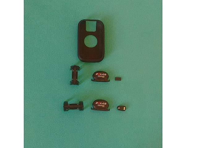 Kit de sensores gps polar v650 + capa de silicone