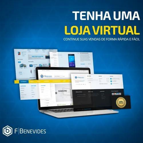 Loja virtual completa configurada e pronta pra vender