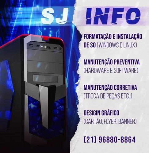 Manutenção De Computadores E Serviços Informática