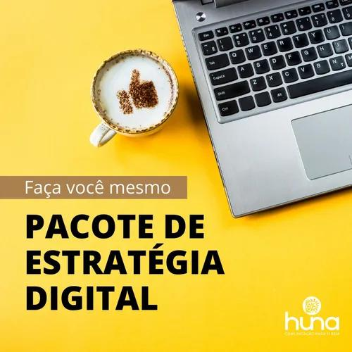 Pacote de estratégia digital para instagram + logo