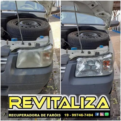 Restauração de faróis automotivos