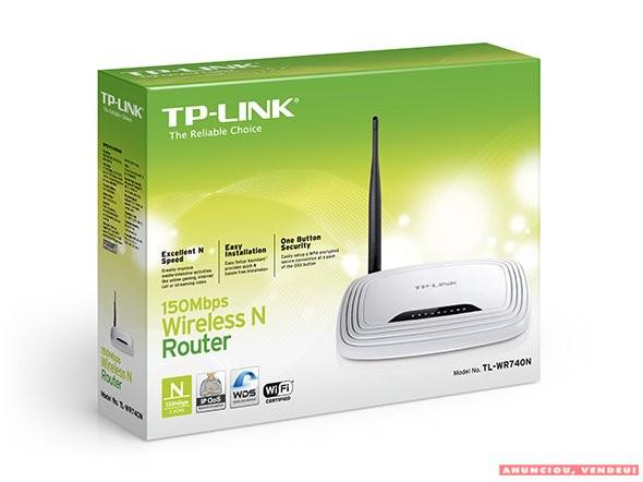 Roteador tp-link tl-wr740n wireless n 150mbps