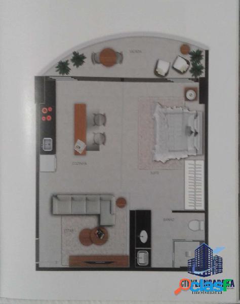 Apartamento vertigo - studio sacada concavo