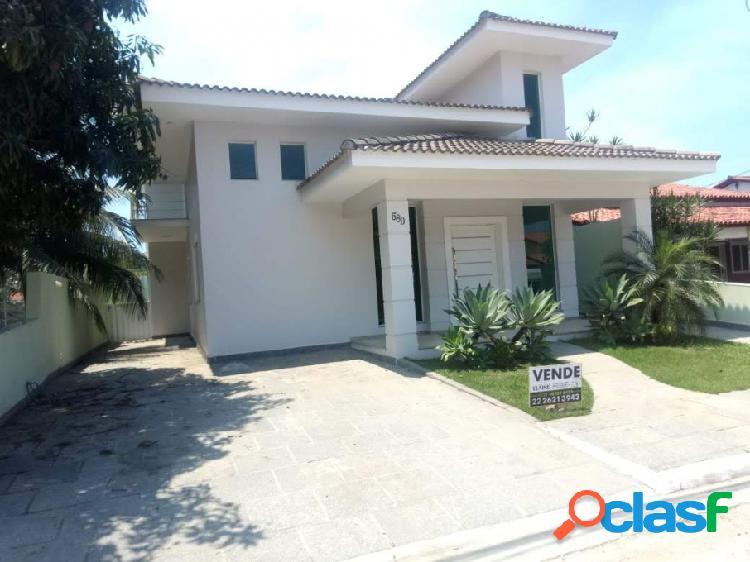 Casa em Condomínio - Aluguel - Sao Pedro da Aldeia - RJ - Balneario)