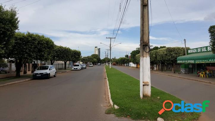 TERRENO COMERCIAL DE ESQUINA NO MORADA DO SOL EM SORRISO-MT