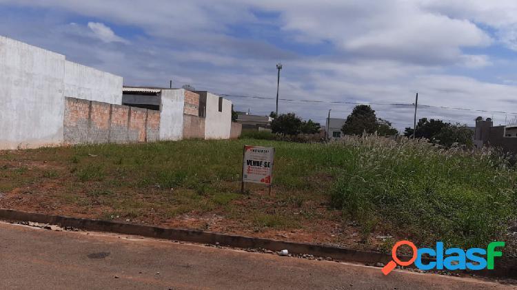 Terreno localizado no bairro santa clara em sorriso mt