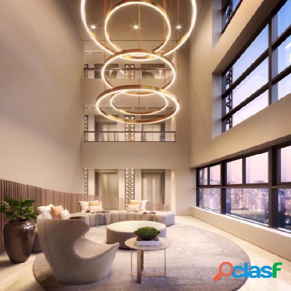 1 dormitório c/ vaga alto padrão 28m² no coração dos jardins - projeto top