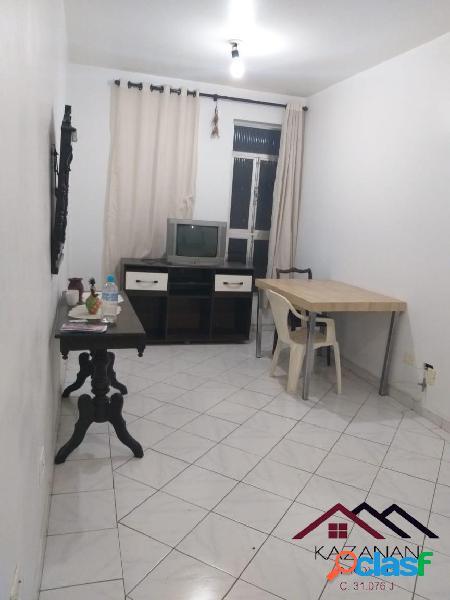 Apartamento 1 dorm - gonzaga - santos - mobiliado