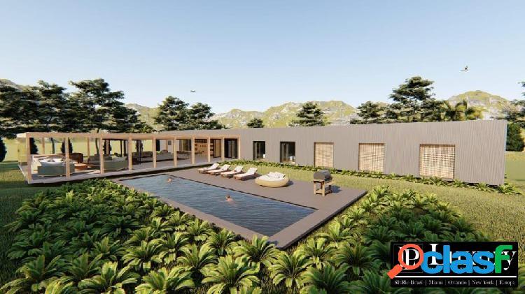 Casa em obras para venda na fazenda boa vista com projeto de márcio kogan