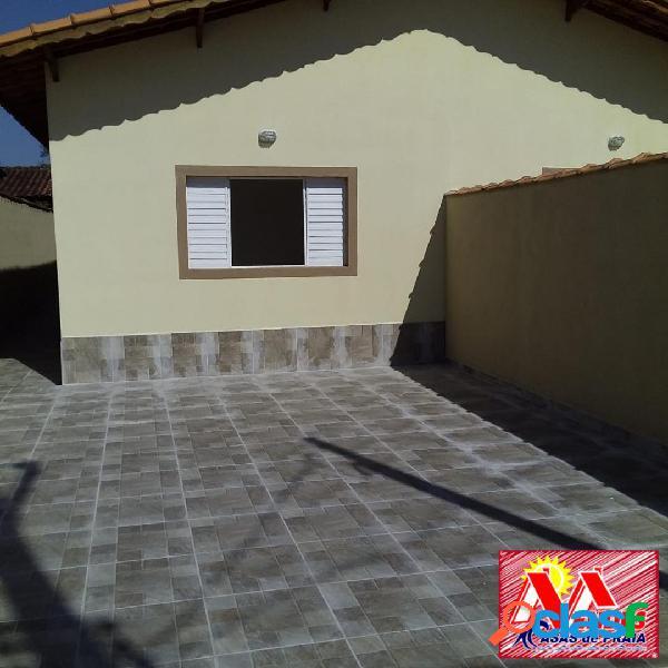 Casa nova 3dormitórios 1suite em mongaguá r$205.000,00 na mendes casas