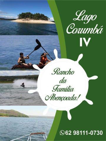 Aluguel temporada casa lago corumbá iv