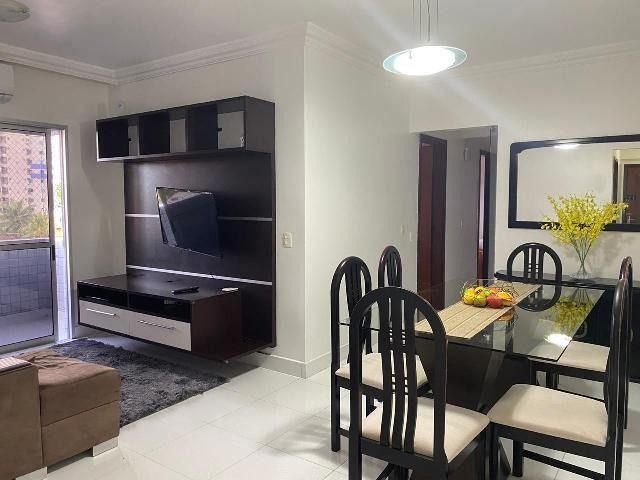 Apartamento no condomínio porto bello 100% mobiliado com 03