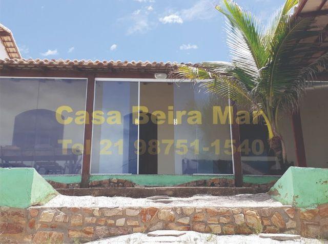 Casa de frente para praia de figueira - arraial do cabo rj