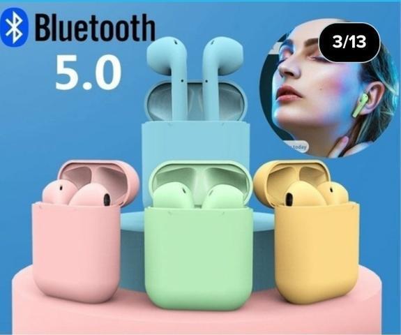 Fone de ouvido sem fio digital i12