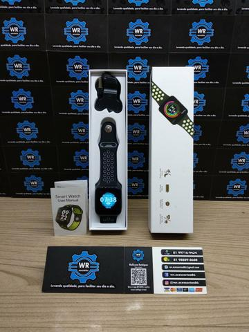 Relógio smartwatch f9 + brinde e entrega grátis
