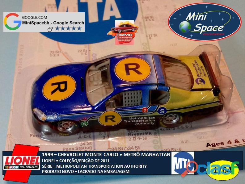 Lionel 1999 Chevrolet Monte Carlo (Metrô de Manhattan) 1/64