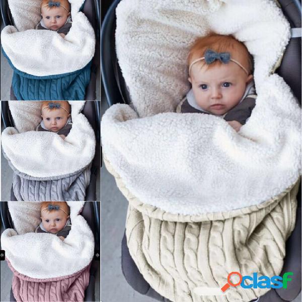 Bebê lateral grosso quente do fechamento que dorme bolsa para o carro de bebê home 0-12 meses