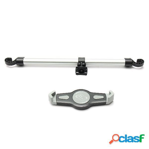 360 ° ajustável universal liga de alumínio do carro de volta assento cabeça descanso montar tablet ipad stand titular