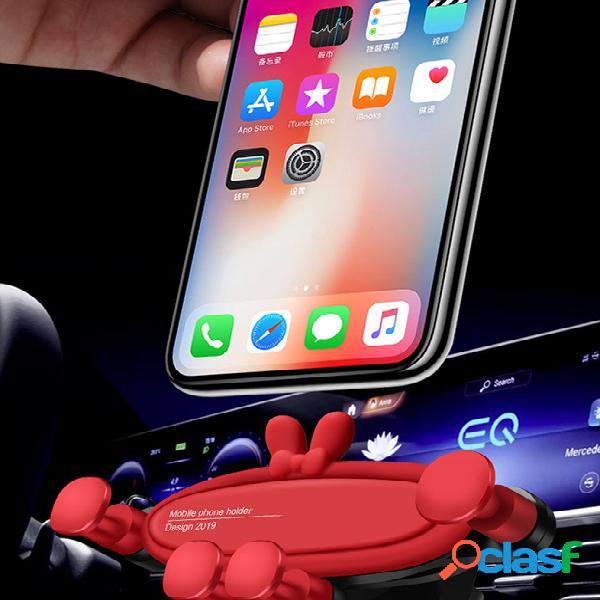 Acessórios criativos do carro do suporte da navegação da detecção da gravidade do suporte do telefone do carro