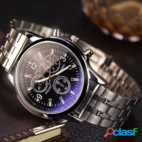 Moda quartz relógio de pulso preto branco rodada dial silver strap couple watch para mulheres homens