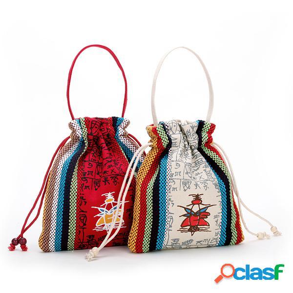O telefone bonito da lona nacional das mulheres ensaca sacos bonitos da moeda