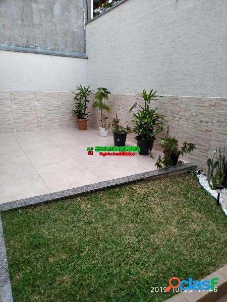 Casa 2 dormitórios em condomínio bairro jardim santa júlia- sjc