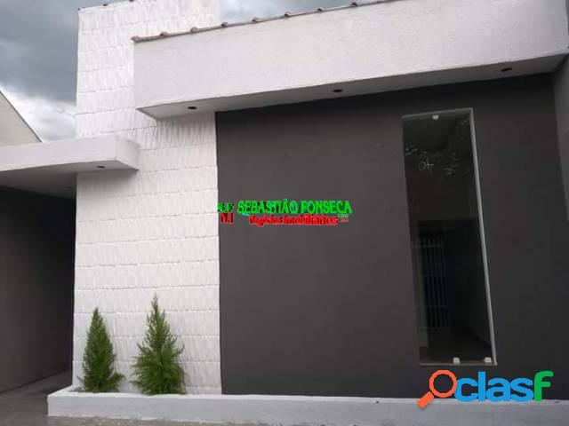 Casa nova 2 dormitórios bairro santa júlia em sjc