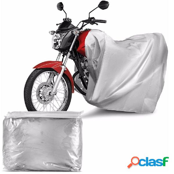 Capa protetora para cobrir moto (100% impermeável com forro) - m