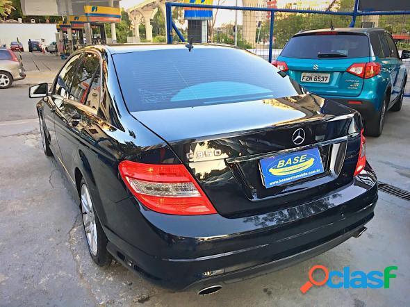 Mercedes-benz c-350 sport 3.5 v6 272cv preto 2009 3.5 v6 gasolina
