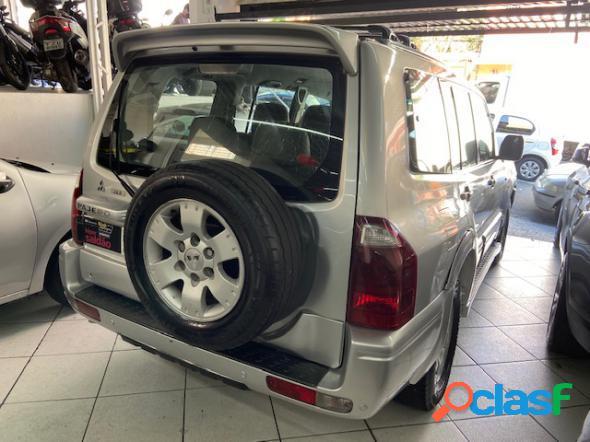 Mitsubishi pajero full gls 3.2 automatico turbo diesel 4x4 prata 2003 3.2 diesel