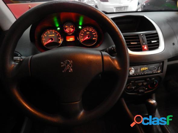 Peugeot 207 xr 1.4 flex 8v 5p preto 2012 1.4 flex