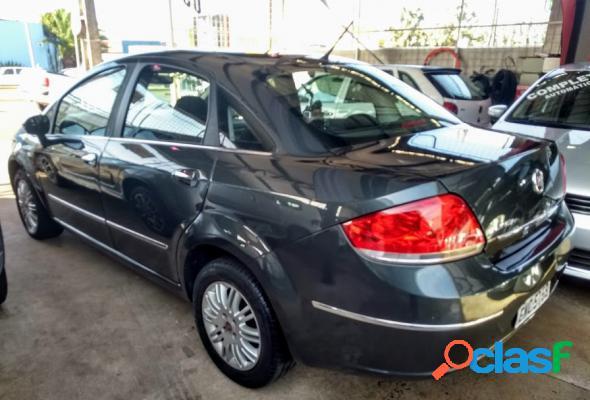 Fiat linea lx 1.9 1.8 flex 16v 4p cinza 2010 1.9 flex