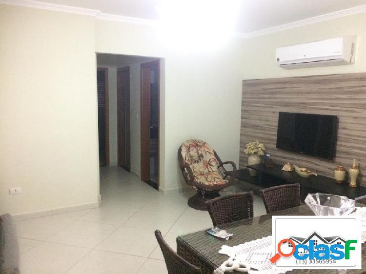 Apartamento alto padrão mobiliado / praia grande / 2 dormitórios.