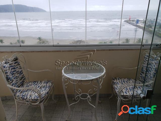 Apartamento orla da praia de Santos com vista mar. 3